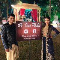 Vrinda Dawda with husband Bhavin