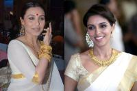 white saree asin and rani mukerji