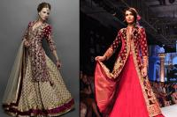 Jacket with lehenga