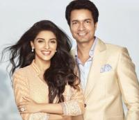 Asin with husband