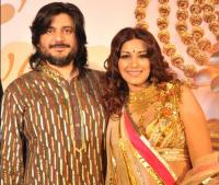 Sonali Bendre with husband