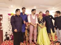 Vineet Kumar Chaudhary and Abhilasha Jakhar engaged