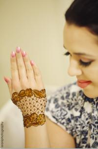 Back mehendi design Israni Photography