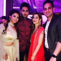 Adaa Khan and Ankit Gera