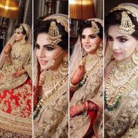 wedding look for muslim brides