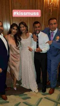 sonam and anand ahuja in london