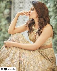 Samantha Prabhu Wedding Lehenga