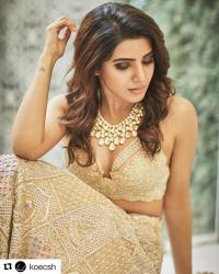 Samatha Ruth Prabhu Wedding Lehenga