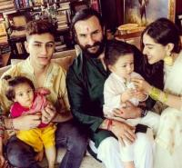 Saif and Taimur
