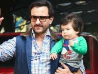 Saif with Taimur