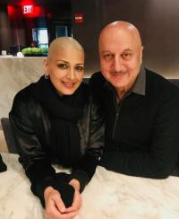 Sonali Bendre and Anupam Kher
