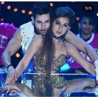 Priyank Sharma and Benafsha Soonwalla