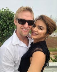Brent Goble Talks About His Love Story With Aashka Goradia
