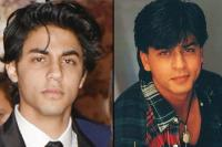 Aryan Khan and Shah Rukh Khan