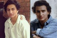 Ibrahim Ali Khan and Saif Ali Khan