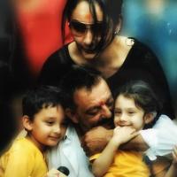 Trishala Dutt Wishes Half-Siblings Shahraan And Iqra Dutt On