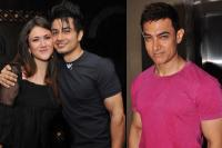 Ali Zafar and Aamir Khan