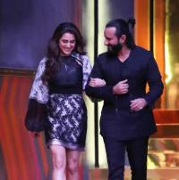 Sara and Saif Ali Khan on Koffee with Karan