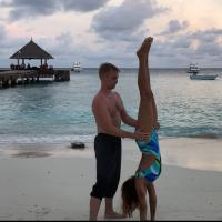 Brent Goble Aashka Goradia Maldives Holiday