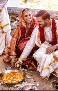 Ranveer Singh And Deepika Padukone Unseen wedding Pictures