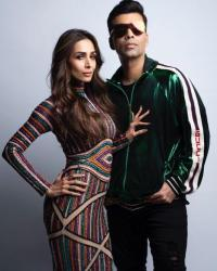 Karan Johar and Malaika Arora