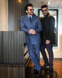 Arjun Kapoor and Anil Kapoor
