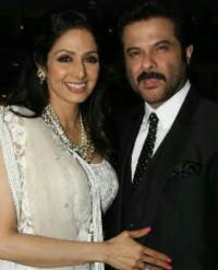 Sridevi and Anil Kapoor