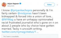 Arjun Kapoor Comments On The Cut Sexist Article