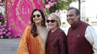 Hilary Clinton at Isha and Anand's wedding functions