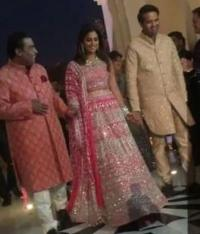 Isha Ambani, Mukesh Ambani and Anand Piramal