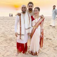 Raghu Ram And Natalie Di Luccio First Pictures Post Their Wedding