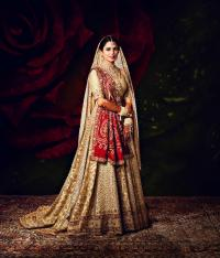 Isha Ambani wedding look