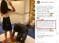 Reaction on MS Dhoni tying his wife, Sakshi's shoes