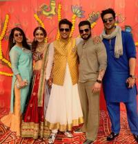 Karan Patel, Aly Goni at Chloe wedding