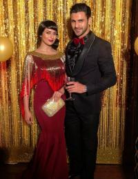 Divyanka Tripathi and Vivek Dahiya's at chloe ferns cocktail night