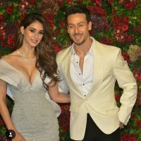 Tiger, Disha at DeepVeer reception