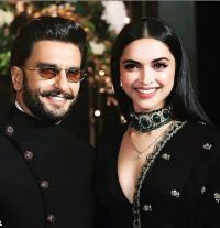 Deepika and Ranveer at PeeCee reception