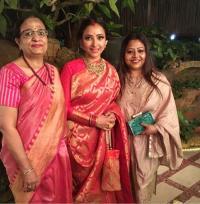 Shweta Basu Prasad and Rohit Mittal wedding reception