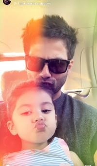 Shahid Kapoor's daughter misha kapoor pouts