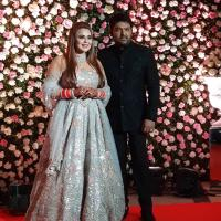 Kapil and Ginni first look Mumbai reception