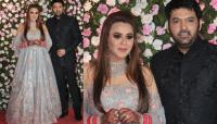 Ginni Chatrath and Kapil Sharma's mumbai reception