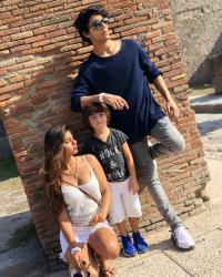AbRam Khan, Suhana Khan and Aryan Khan