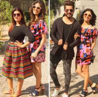 Kishwer Merchant and Shruti Rai