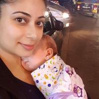 Malini Kapoor With Son Kiyaan