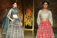 pocket lehengas for winter brides