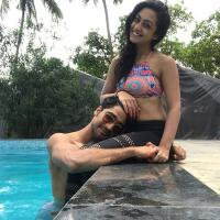 Sanam Johar and Abigail Pande