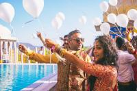 Real Wedding Couples Sharry And Nutan Mehendi Ceremony
