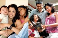 Aditi Govitrikar And Muffazal Family Picture