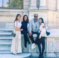 Boney Kapoor, Sridevi, Janhvi and Khusi Kapoor