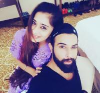 Sara Khan and Noor Hassan